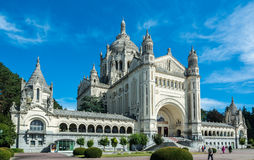 Basilica of St Therese of Lisieux Royalty Free Stock Photo