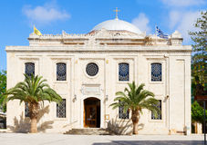 Basilica of St Titus, Heraklion, Greece Royalty Free Stock Image