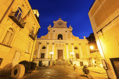 Basilica of St. Trofimena in Minori Stock Photos