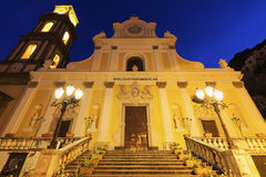 Basilica of St. Trofimena in Minori Royalty Free Stock Image