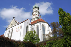 Basilica St. Ulrich. In Augsburg (Bavaria, Germany Stock Photos