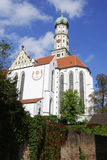 Basilica St. Ulrich Royalty Free Stock Image