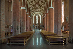 Basilica of Sts. Catherine in Braniewo, Poland. Stock Photo