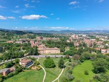 Basilica StValentino, Terni, Italia fotografie stock