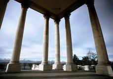 Basilica Superga 2. Basilica Superga - Columns from Torino Italy royalty free stock image