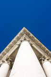 Basilica Superga - Roof corner, short column Royalty Free Stock Image