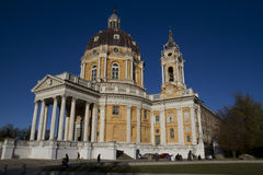 Basilica of Superga Turin Italy Stock Images