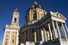 Basilica of Superga Turin Italy Royalty Free Stock Photography