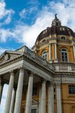 Basilica of Superga. View of the Basilica of Superga, in Turin - Italy Royalty Free Stock Photography
