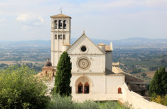 Basilica superiore di San Francesco, Assisi Royalty Free Stock Photos