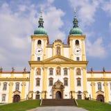 Basilica Svaty Kopecek in Olomouc,Czech Royalty Free Stock Image