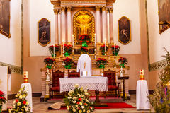Basilica Templo De La Compania瓜纳华托州墨西哥 免版税图库摄影