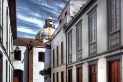 Basilica. teror. gran canaria Royalty Free Stock Images