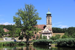 Basilica of Thierenbach in Alsace Royalty Free Stock Images