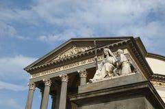 Basilica a Torino fotografie stock