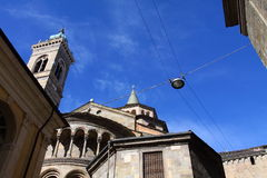 Basilica and tower bell Royalty Free Stock Photography