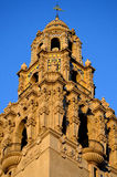 Basilica Tower. A basilica tower with exquisite architecture Stock Photos