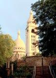 Basilica tower in Paris Stock Image