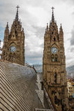 Basilica Towers and Roof Stock Images