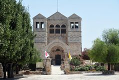 Basilica of the Transfiguration - Mount Tabor Israel Stock Image