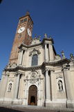 Basilica Treviglio Royalty Free Stock Photos