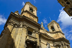 Basilica, Vallettta, Malta Royalty Free Stock Images