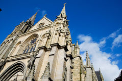 Basilica of Vannes in France Royalty Free Stock Images