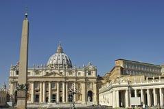 basilica vatican royaltyfri fotografi