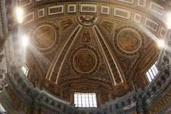Basilica - Vatican, Italy Stock Images