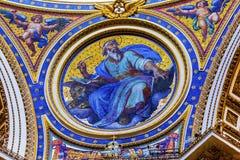 Basilica Vaticano Roma Italia del ` s di Mark Mosaic Saint Peter del san Fotografia Stock Libera da Diritti