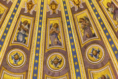Basilica Vaticano Roma Italia del ` s di Michelangelo Dome Saint Peter Immagini Stock