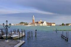 Basilica a Venezia in Italia Immagine Stock
