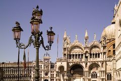 Basilica Venezia, Italia del ` s di St Marc Fotografia Stock