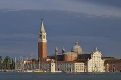 Basilica in Venice in Italy Royalty Free Stock Photo