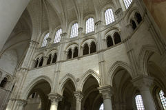 Basilica of Vezelay Stock Photo