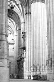 Church. Visiting the beautiful castle and convent of the Knights Templar of Tomar in Tomar Portugal Royalty Free Stock Image