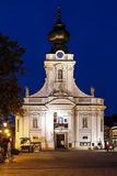 Basilica in Wadowice, Poland. Stock Images