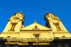 Basilica In Zagreb, Croatia Stock Photography