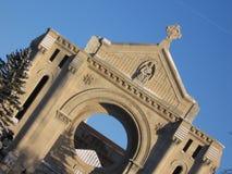 basilicaboniface st Arkivbild
