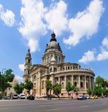 basilicabudapest s st stephen Royaltyfri Foto