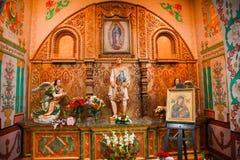 basilicacapistranoguadalupe juan san relikskrin Arkivfoto