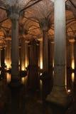 basilicacistern istanbul royaltyfri fotografi