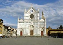 basilicacrocedi florence s Royaltyfri Bild