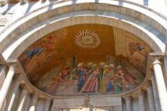 basilicadetaljmarco san Royaltyfri Bild
