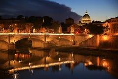 basilicadi italy pietro rome san vatican Royaltyfri Bild