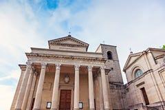 Basilicadi San Marino Fotografering för Bildbyråer