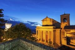 Basilicadi San Marino Royaltyfri Bild