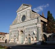 basilicadiflorence italy maria novella santa Arkivbild