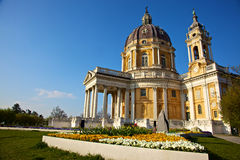 basilicadiitalia superga torino Arkivfoto