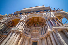 basilicadiitaly marco san venice Royaltyfri Foto